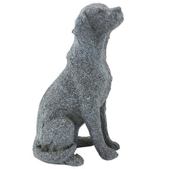 Sitting Dog - Grey - The Chic Nest