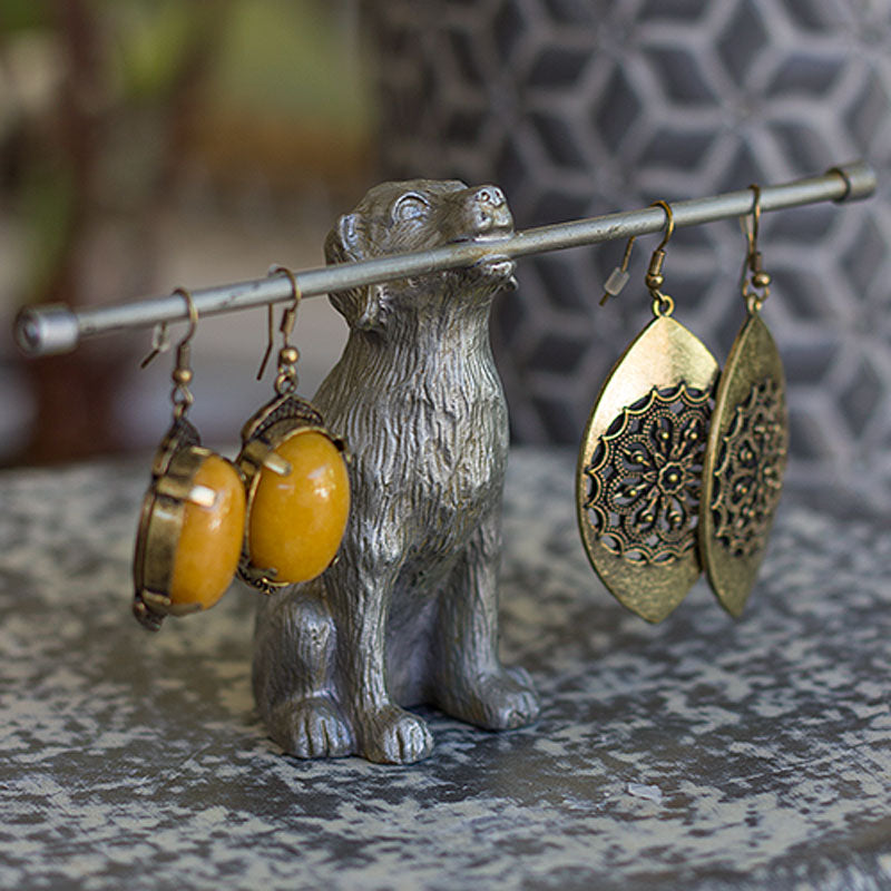 Sitting Dog Jewellery Holder