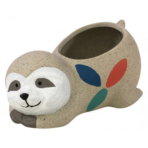 Sloth Sleeping Planter