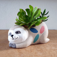 Sloth Sleeping Planter - The Chic Nest