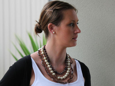 Sloane Beaded Necklace - The Chic Nest