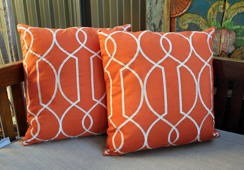 Spice Orange Cushion