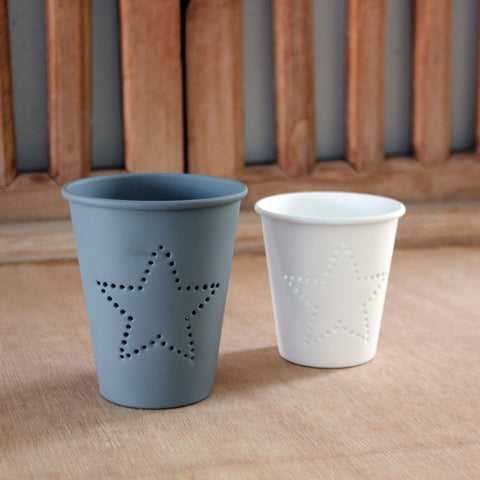 Set of 2 Star Votive Holders - The Chic Nest
