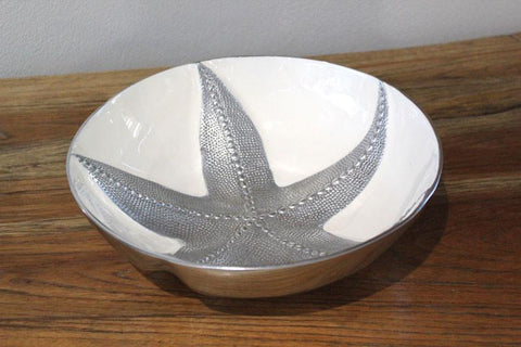 White Star Fish Bowl - Large - The Chic Nest