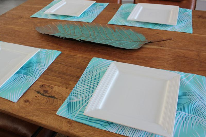 Sublime Printed Placemat - The Chic Nest