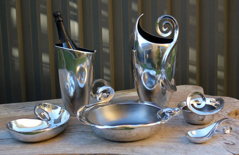 Swirl Ice Bucket - The Chic Nest