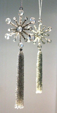 Tassel Beaded Ornament - The Chic Nest