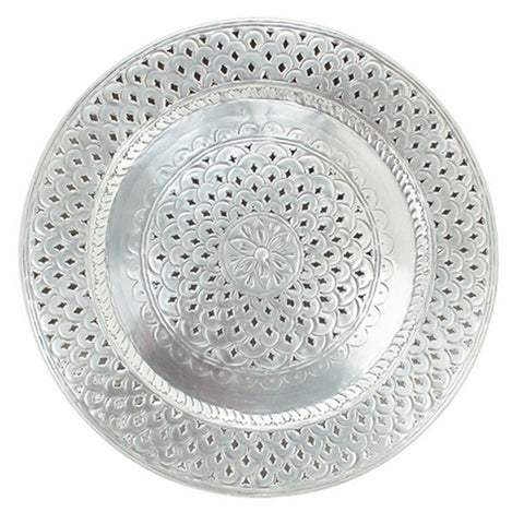 Taza Metal Tray - Handcrafted - The Chic Nest
