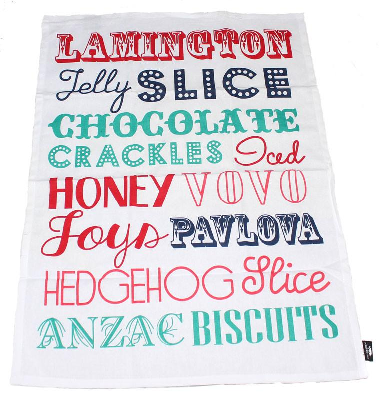 Retro Sweets Tea Towel Set of 3 - The Chic Nest