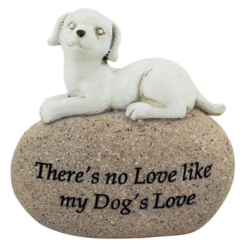 There's No Love Like My Dog's Love Figurine - The Chic Nest