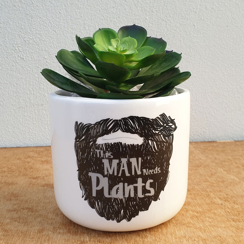 This Man Needs Plants Man Planter