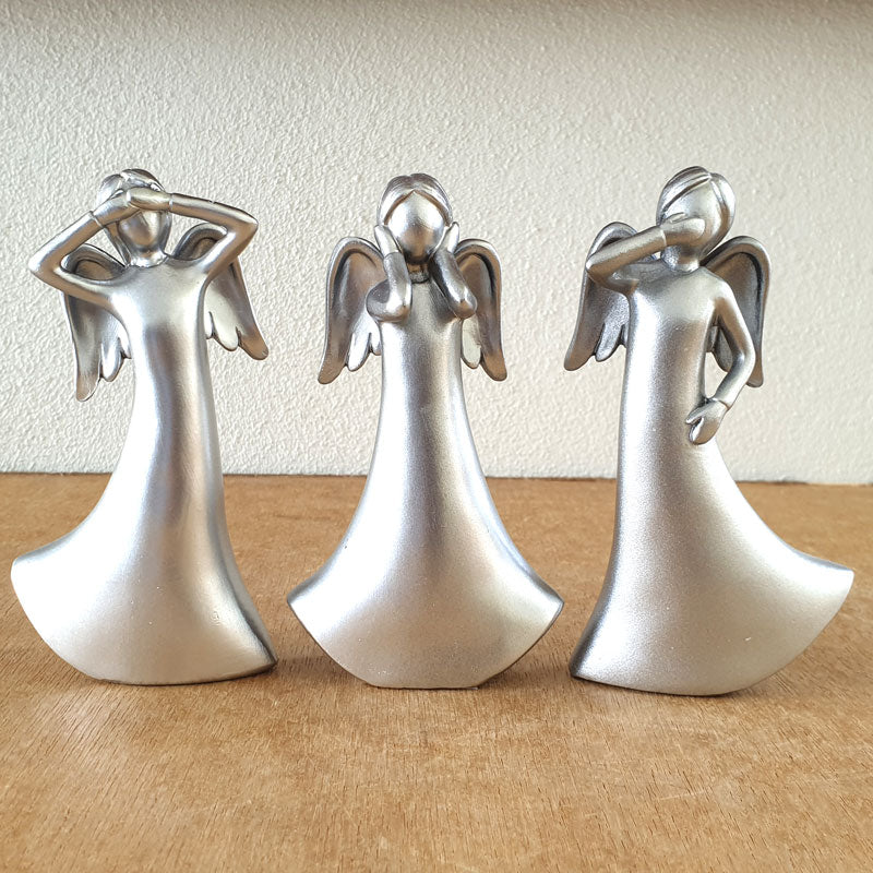 Three Wise Angels - Silver