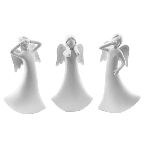 Three Wise Angels - White