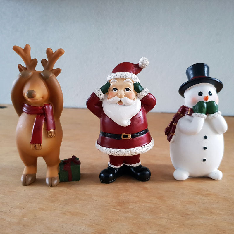 Three Wise Christmas Trio - The Chic Nest