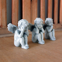 Three Wise Cupids - Grey