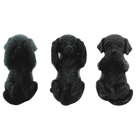 Three Wise Labradors - Black - The Chic Nest