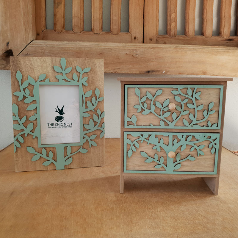 Tree Of Life Photo Frame Green 4 X 6 The Chic Nest