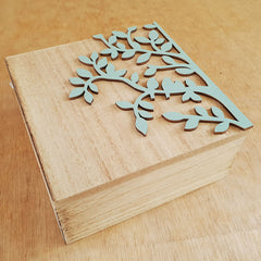Set of 2 Tree of Life Boxes - The Chic Nest