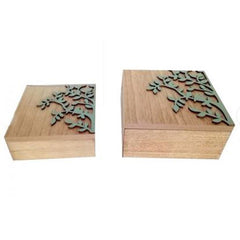 Set of 2 Tree of Life Boxes