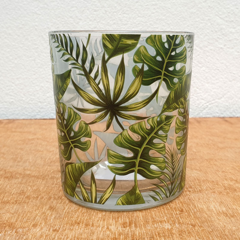 Tropical Leaf Tealight Holder