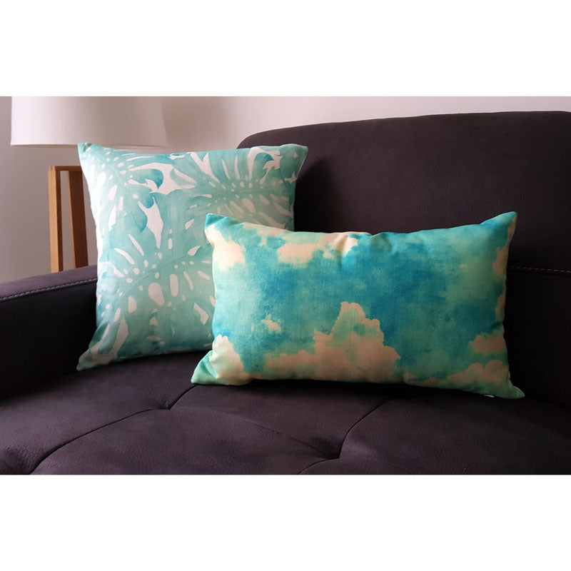 Tropical Mint Cushion