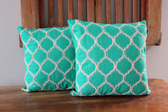 Turkish Tile Cushion - The Chic Nest