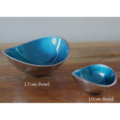 Turquoise Bowl 17cm - The Chic Nest