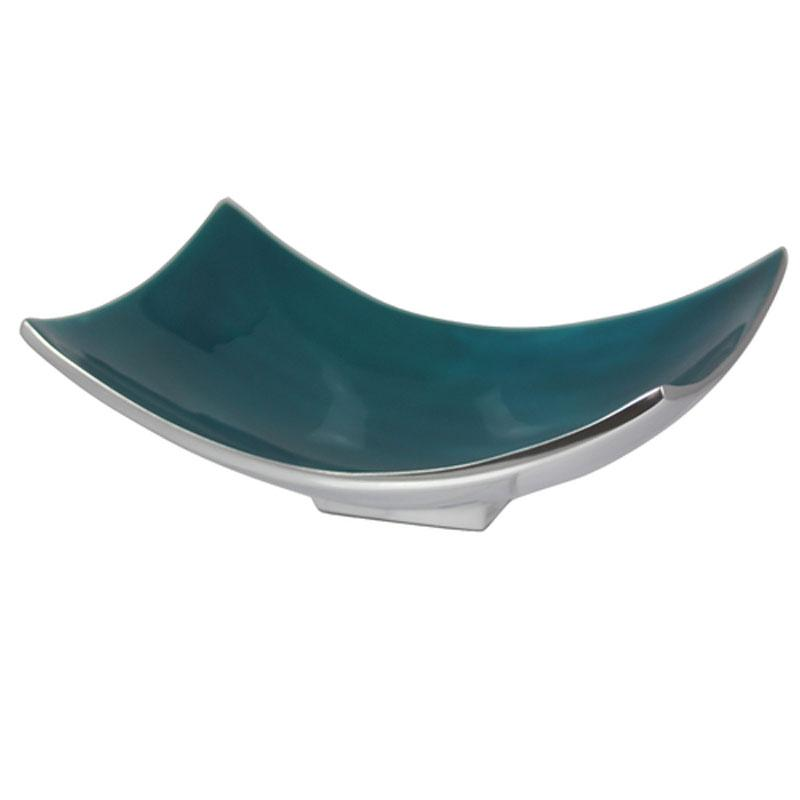 Turquoise 20cm Rectangle Dish - The Chic Nest
