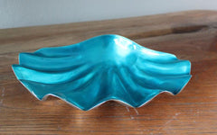 Turquoise Shell Dish - Large - The Chic Nest