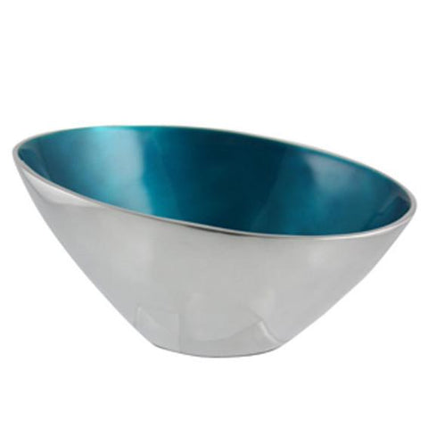 Turquoise Tapered Bowl - The Chic Nest