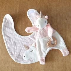 Unicorn Bib - The Chic Nest