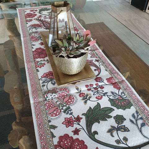 Vino Table Runner - Handcrafted