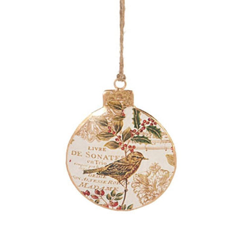 Vintage Bird Ornament - The Chic Nest
