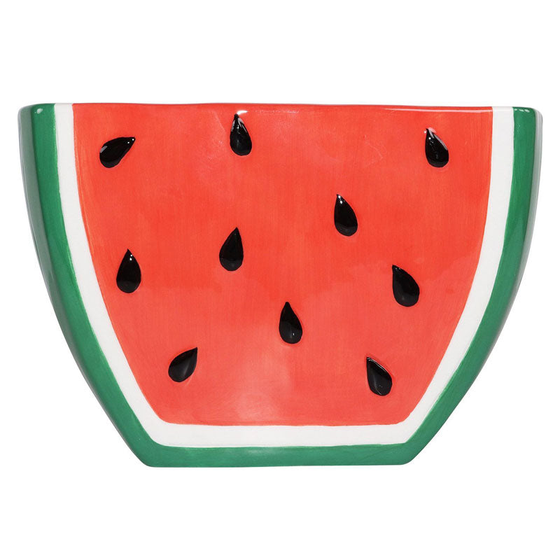 Watermelon Ceramic Planter - Large