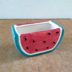 Watermelon Ceramic Planter