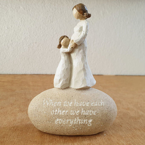 Expectations Mum and Child Figurine
