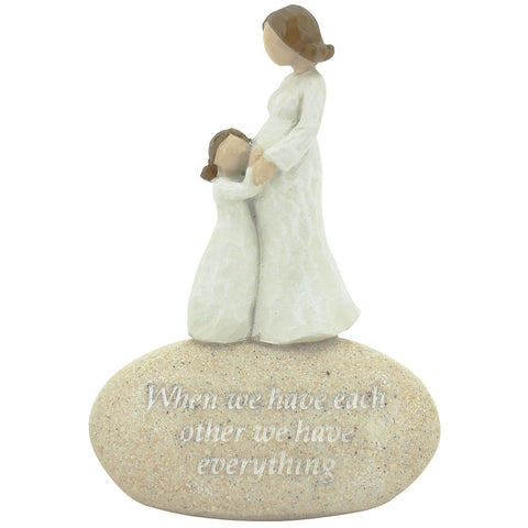 Expectations Mum and Child Figurine - The Chic Nest