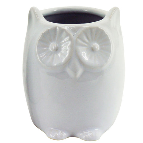 White Owl Planter - The Chic Nest