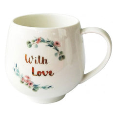 With Love Gift Boxed Mug - The Chic Nest