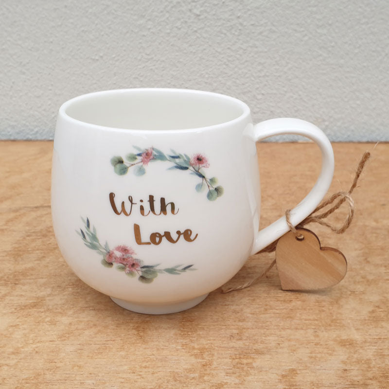 With Love Gift Boxed Mug
