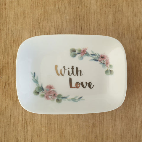 With Love Trinket Dish - The Chic Nest