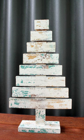 Vintage Wooden Tree - The Chic Nest