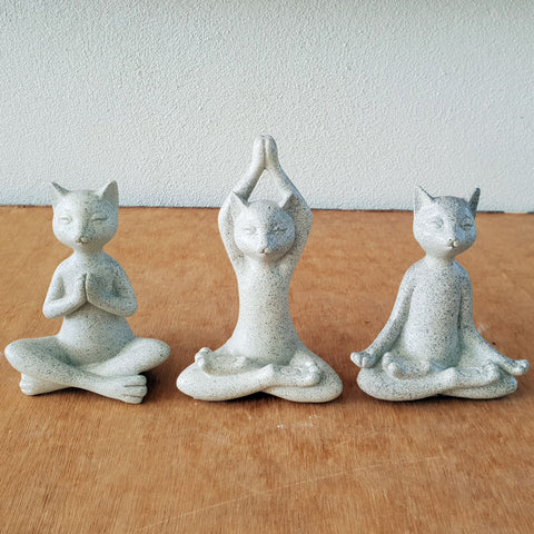Yoga Cats - Set of 3