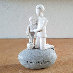 You Are My Hero Figurine - The Chic Nest