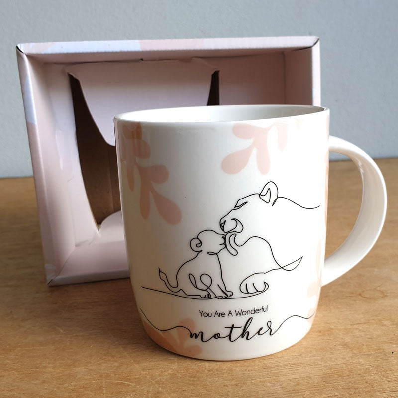 You Are A Wonderful Mother Gift Boxed Mug - The Chic Nest