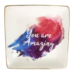You Are Amazing Colourful Trinket Dish