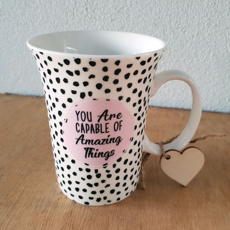 You Are Capable Of Amazing Things Gift Boxed Mug