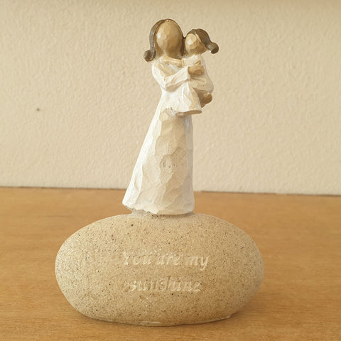 You Are My Sunshine Mum & Child Figurine