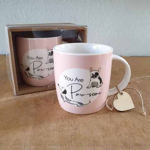 You Are Paw-some Dog Gift Boxed Mug - The Chic Nest