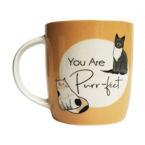 You Are Purr-fect Cat Gift Boxed Mug - The Chic Nest